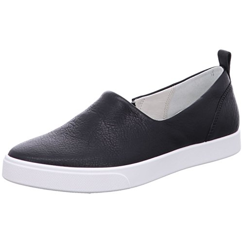 Ecco Damen Gillian Slip On Sneaker Schwarz