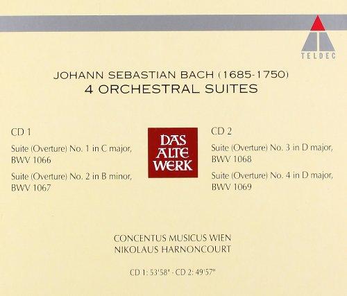 J.S. Bach: 4 Orchestral Suites by Teldec Classics