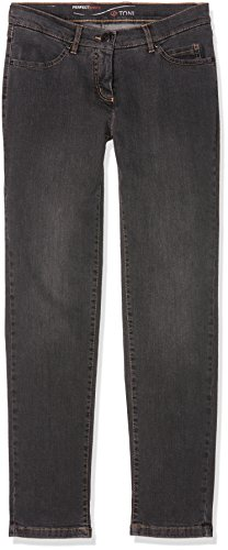 TONI Perfect Shape Slim, Jeans para Mujer Grau (dark grey used 862)