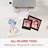 """Xyron Creative Station Lite, 3"""" or 5"""", Label Maker, Makes Invitations, Handmade Cards, Die Cuts Craft Projects, DIY Craft Supplies, Perfect for Home School Projects & Home Office Accessories"""