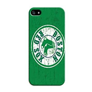LarryToliver Sports Collection Case Baseball Boston Red Sox for iphone 5/5s back case cover