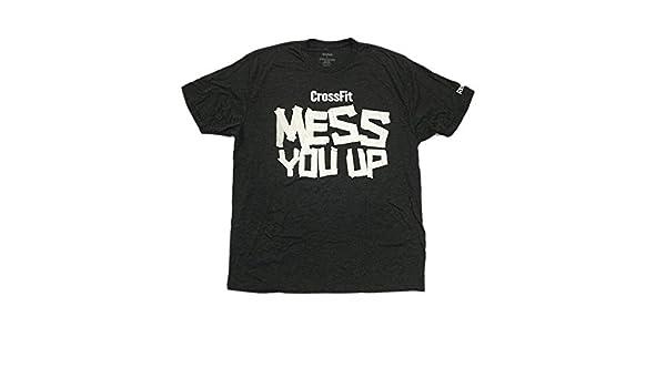 "Reebok Men/'s CrossFit Jason Khalipa /""No Substitute For Hard Work/"" Blue T-Shirt"