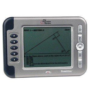 Franklin SAT-2400 Princeton Review Pocket Prep Interactive Handheld Tutor for the SAT + Franklin Case