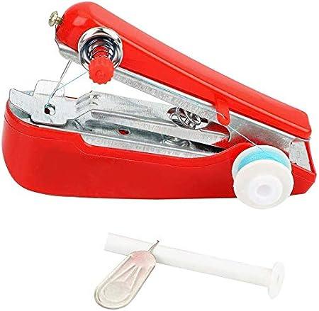 LHSUNTA Máquina de Coser portátil Manual Mini máquina de Coser ...