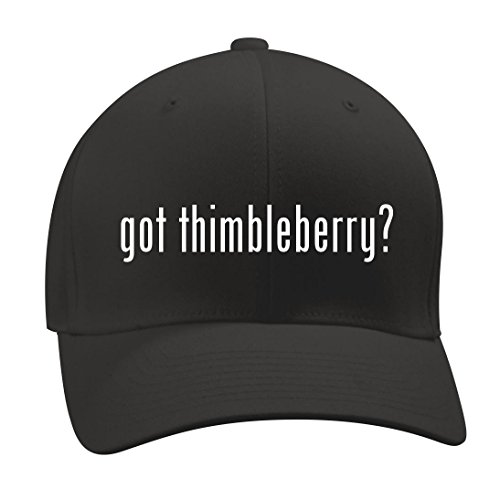 got thimbleberry? - A Nice Men's Adult Baseball Hat Cap, Black, Small/Medium