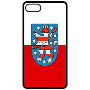 Thuringia Flag - Black Apple Iphone 6 (4.7 Inch) Cell Phone Case - Cover