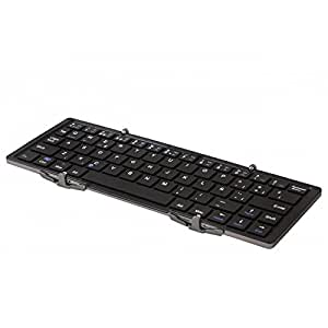 SilverHT Origami Portable Keyboard Bluetooth QWERTY