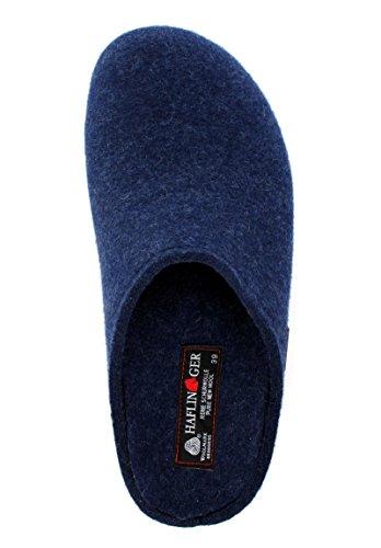 Bleu Pantofole adulto Jeans Unisex Haflinger Michl Grizzly 4aWZqnEX