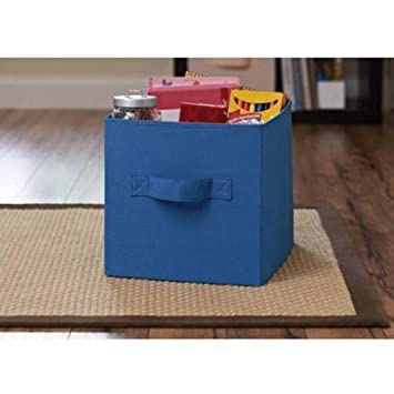 Durable, Stylish Better Homes And Gardens Collapsible Fabric Storage Cube,  Set Of 2,