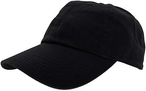 Falari Baseball Cap Hat 100% Cotton Adjustable Size