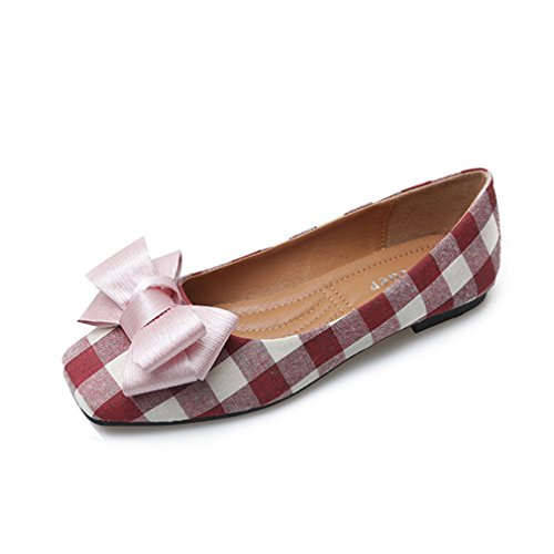 Giles Jones Flat Shoes Slip On Loafers for Women Casual Anti-Slip Soft Sole Ladies