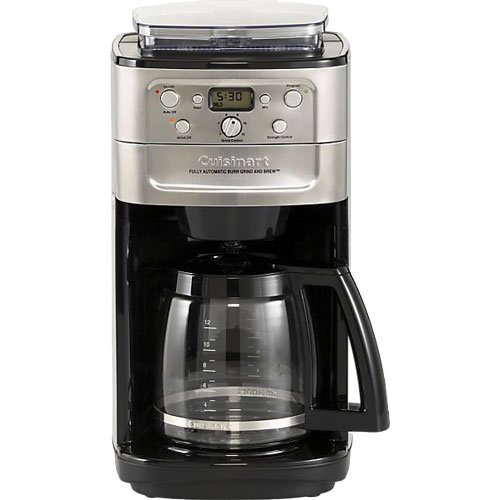 Buy Cuisinart DGB-700BC Cuisinart Brushed Chrome Fully Automatic 12 Cup Grind & Brew Coffeemaker With Burr Grinder + Hario MSS-1B Mini Mill Slim Coffee Grinder (online)