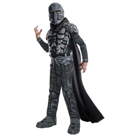 Zod Man Of Steel Costume (Rubies 218024 Superman-Man of Steel - Deluxe General Zod Child Costume Medium)
