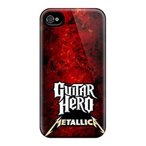 Iphone 4/4s Hcn20121oCXj Unique Design Fashion Metallica Pictures High Quality Cell-phone Hard Cover -SherriFakhry