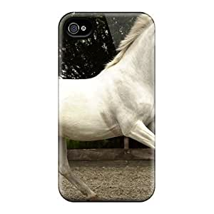 New Style Tpu 4/4s Protective Case Cover/ Iphone Case - Lady Graven The Spanish Mare