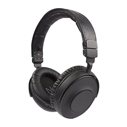Altec Lansing NJHP-3-BLK Nick Jonas Collaboration Active Noise Cancellation Headphones, Black (Altec Lansing Audio Headphone)