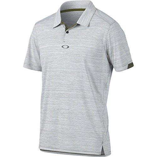 Oakley Men's Gravity Polo, Dark Brush, - Shirt Oakley Golf