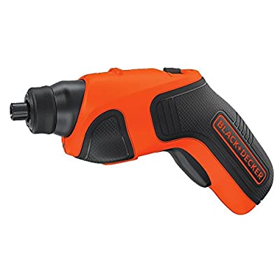BLACK+DECKER BDCS20C 4-Volt MAX Lithium-Ion Cordless Rechargeable Screwdriver from Black and Decker