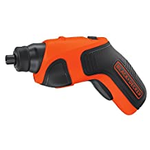 BLACK + DECKER BDCS20C 4-Volt Max Lithium-Ion Cordless Rechargeable Screwdriver