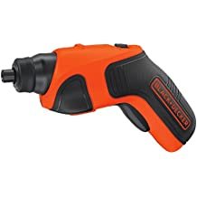 BLACK+DECKER BDCS20C 4-Volt MAX Lithium-Ion Cordless Rechargeable Screwdriver