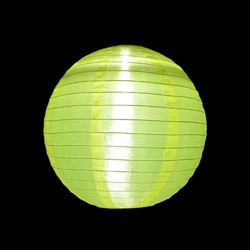 6 Packs Multi-Color 10'' Solar Powered Lanterns Hanging Solar Lamps for Garden by uxcell (Image #5)