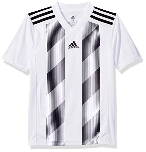 (adidas Juniors' Striped 19 Soccer Jersey )