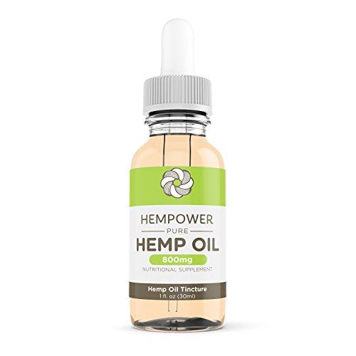 Hempower 800mg Pure Hemp Oil Tincture