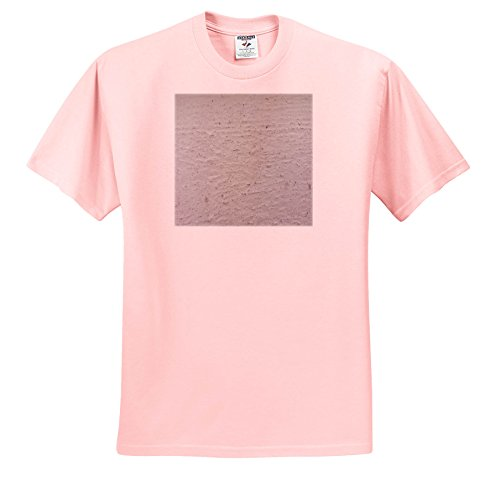 3dRose TDSwhite – Miscellaneous Photography - Cement Foundation - T-Shirts - Adult Light-Pink-T-Shirt 3XL (ts_285242_39) (Foundation Womens Pink T-shirt)