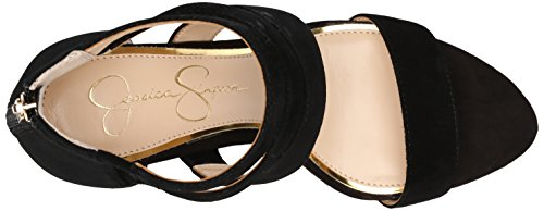Fancy Jessica Simpson Jessica Simpson Kvindernes Marlen Kjole Sandal Sort zV4oRnoW4