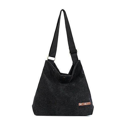 Aoligei Diagonale de sac femme tendance toile cross pack lady main épaule A