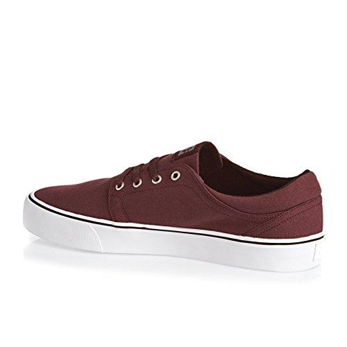 DC Shoes Herren Trase Tx Sneaker dunkelrot - weiß
