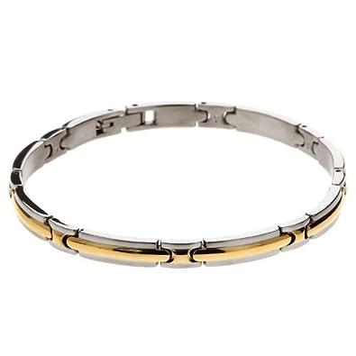 Bracelet homme acier rochet