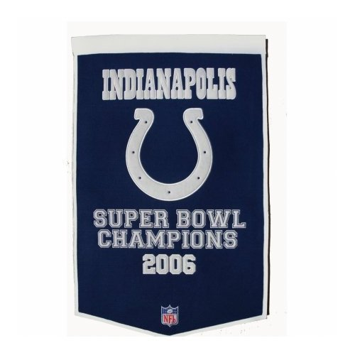 (Winning Streak NFL Indianapolis Colts Dynasty Banner)