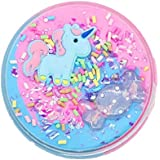 Unicorn Cake Cloud slime, Cotton Candy slime Supplies Stress Relief Toy Scented Sludge Toy