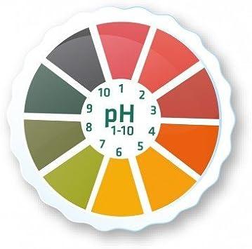 AlkalineCare 5M pH papel rollo prueba de fuego papel tira rollo de alta precisión PH indicador tiras para orina Saliva alcalina