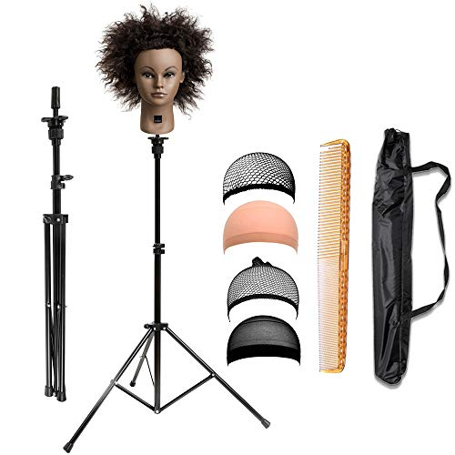 xnicx Mannequin Adjustable Cosmetology Hairdressing