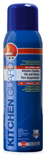 Shield Fire Protection Kitchen Guard Wet Chemical Fire Suppressant for Kitchen Cooking Oil and Grease Fires