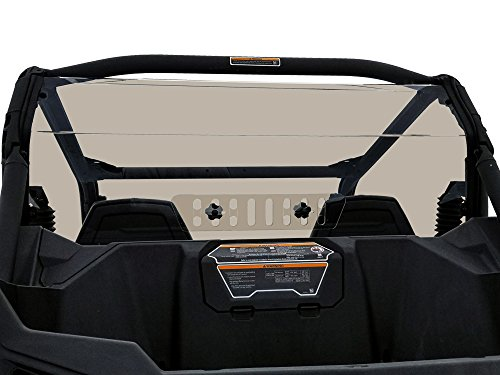 Can Am Maverick Trail/Sport Tinted Rear Shield With Sliding Vent (Rear Window Vent)
