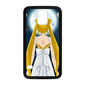 Anime Mamoru Super Sailor Moon Cover Case for Samsung Galaxy S5 (Laser Technology)