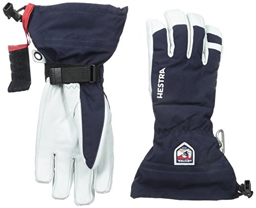 Hestra Army Leather Heli Ski Gloves, Navy, 10