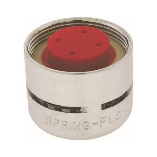 Neoperl 15 0100 4 Standard Flow Spring-Flo Female Aerator, 2.2 GPM, Regular, 3 Screens, Aerated, 55/64''-27 Threads, Chrome Finish (Pack of 50)