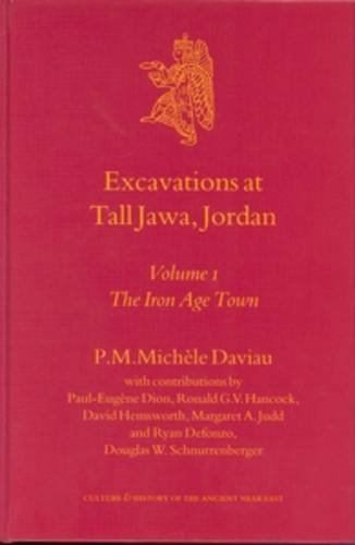 Download Excavations at Tall Jawa, Jordan: The Iron Age Town (Culture and History of the Ancient Near East) (Culture & History of the Ancient Near East) PDF