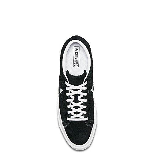 Converse Suede Scarpe – Star One Unisex White White Black 001 Ox Lifestyle Adulto Fitness da Nero TwXrqnIXFz