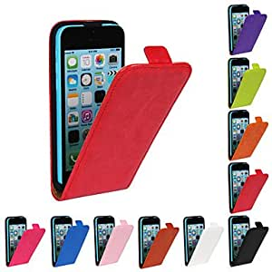 WQQ IPhone 5C Compatible Solid Color/Special Design Full Body Cases(Assorted Color) , Orange