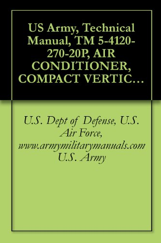 (US Army, Technical Manual, TM 5-4120-270-20P, AIR CONDITIONER, COMPACT VERTICAL, 208 V, 3 PHASE; 60,000 BTUH COOLING; 49,000 BTUH HEATING, (TRANE MODELS), ... (429-935-5417), military manuals)