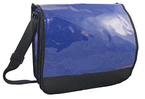 XL maletín para Messenger nbsp;Ancho Funda Plan Bag clásico archivadores Azul 2 Espacio rgUrS