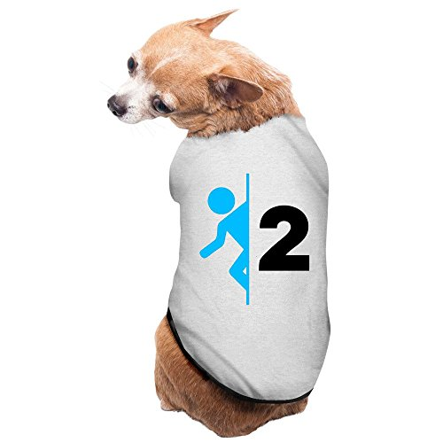 [Fashion Sleeveless Pet Supplies Video Game Portal 3 Dog Costume Dog Winter Coat] (80s Rock Costumes)