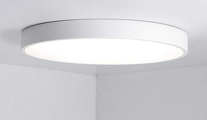 Macaron - Lámpara de techo LED redonda, iluminación para ...