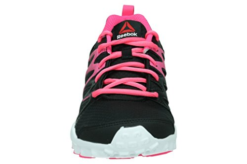 Reebok Realflex Train 4.0 - Zapatillas de deporte, Niñas, Negro / Rosa / Blanco Negro / Rosa / Blanco (Black / Solar Pink / White)