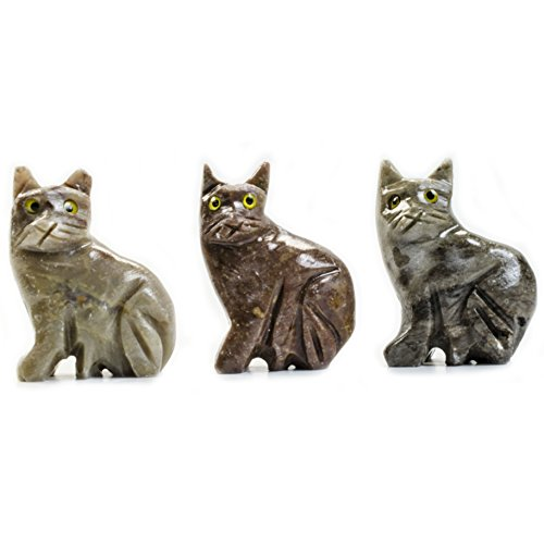 Digging Dolls : 10 pcs Artisan Cat Collectable Animal Figurine - Party Favors, Stocking Stuffers, Gifts, Collecting and More! by Digging Dolls